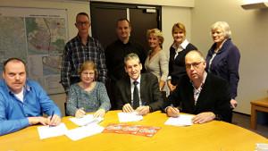 HartslagNu Rhenen officieel van start op het gemeentehuis Rhenen